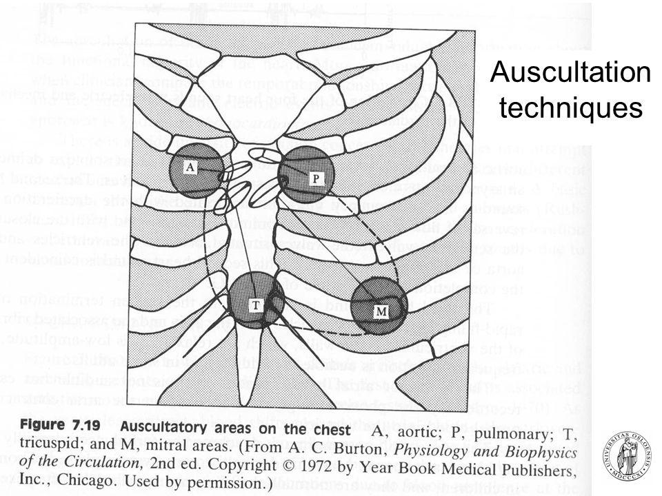 Fysisk institutt - Rikshospitalet 17 Auscultation techniques