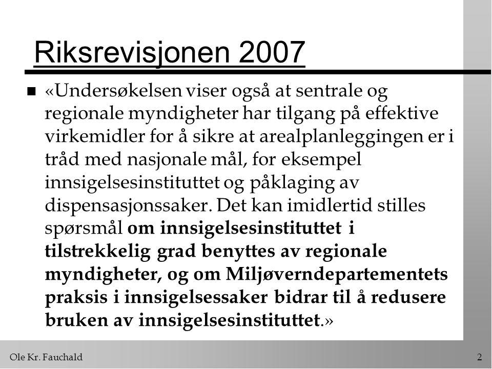 Ole Kr.Fauchald63 3) Kompetanseplassering n Hvem har ansvaret for igangsetting.