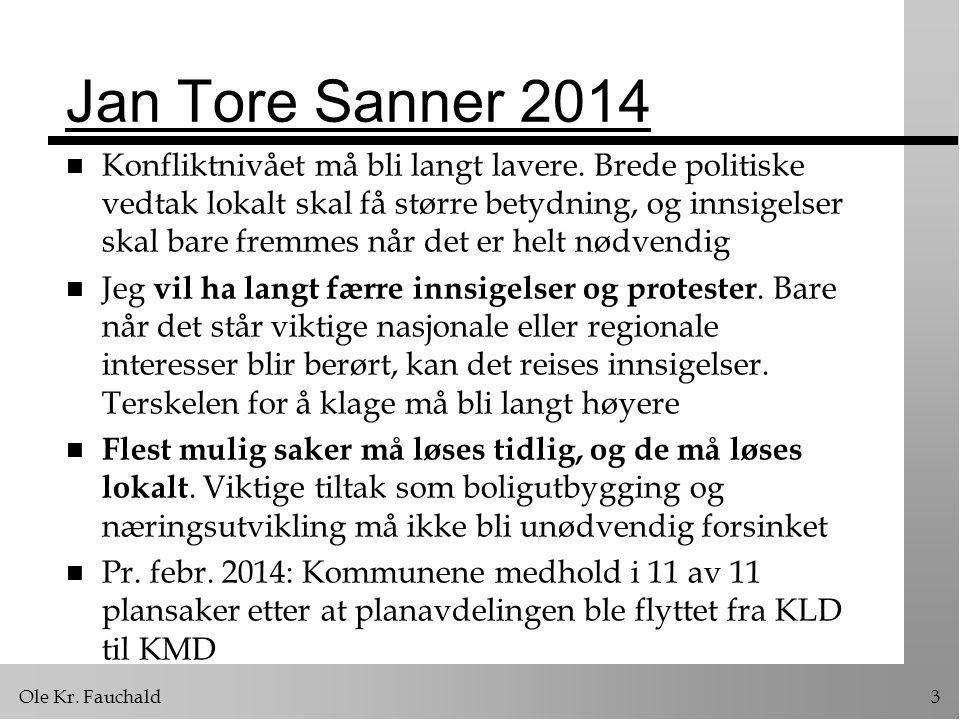 Ole Kr.Fauchald64 Dispensasjoner n Kan delegeres til administrasjonen.