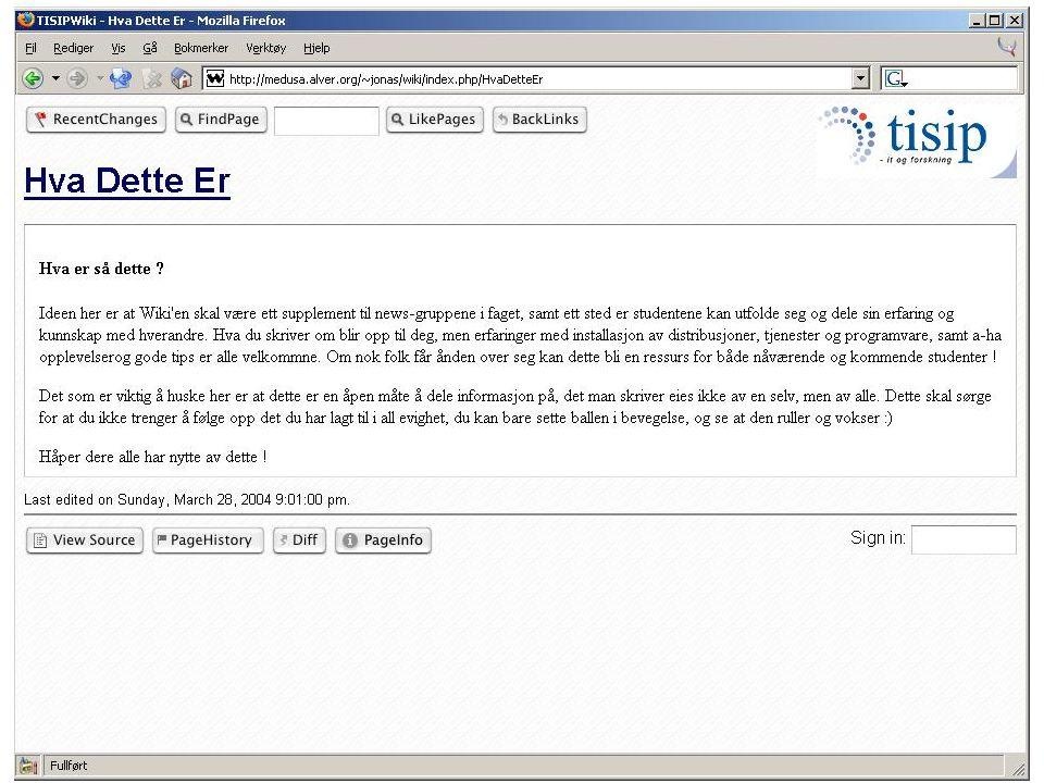 Tjenester som ble filmet -Apache.Enkle feil og oppsett av virtuelt host - DNS.