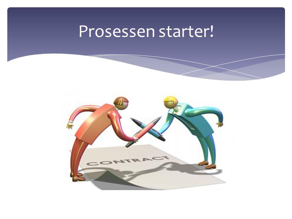 Prosessen starter!