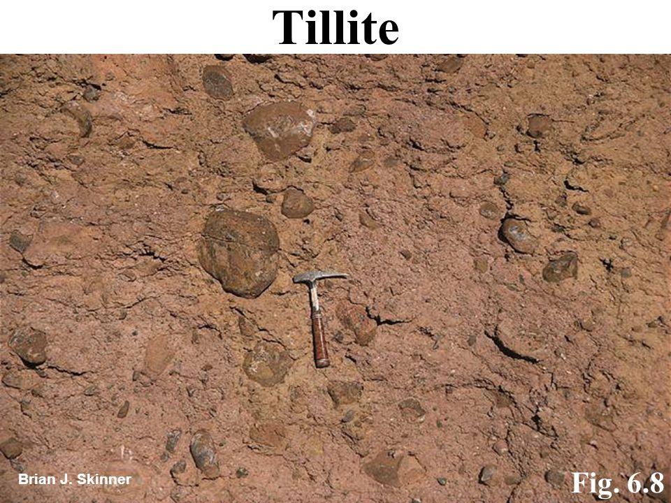 Tillite Brian J. Skinner Fig. 6.8