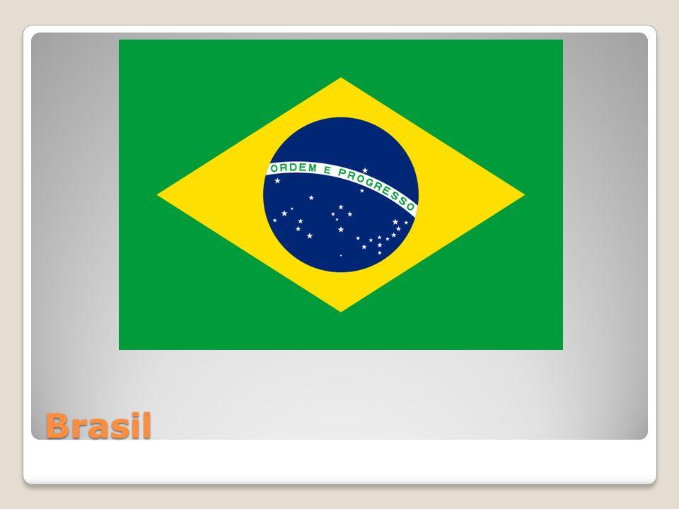 Brasil på jordkloden.