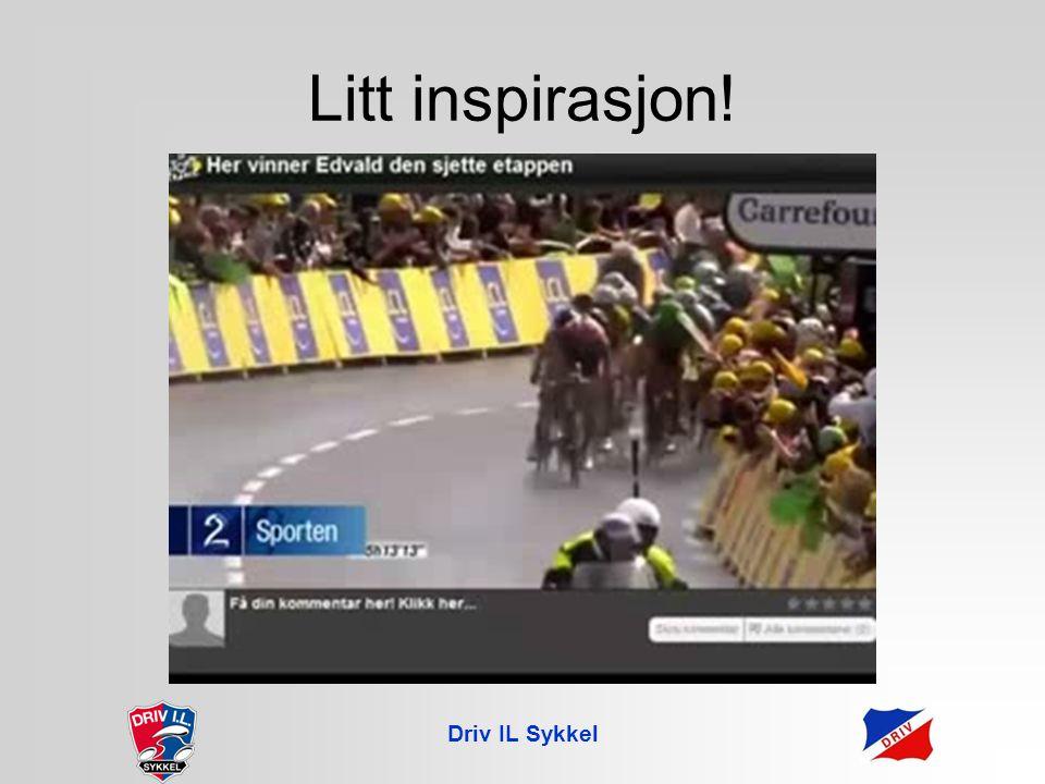 Driv IL Sykkel Litt inspirasjon!