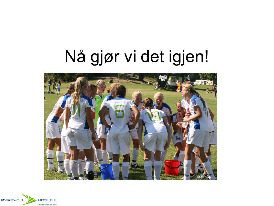 Bakgrunn ØHIL`s jenter ønsker å spille i Toppserien innen 2015.