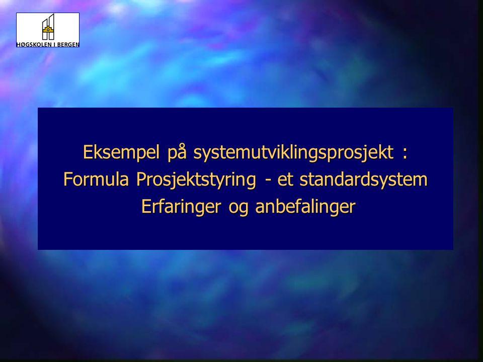 14 Systemutvikling HiB 31.03.04 Kjøpe eller utvikle selv ?  Behov for system er identifisert : kjøpe eller utvikle systemet selv ? støtteprosesser :
