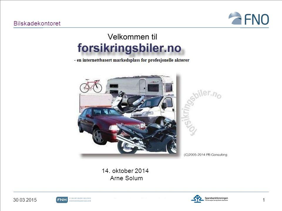 Bilskadekontoret  Forsikringsbiler.no  Markedsplassen  DBS-M  Forsikringsselskapenes finn.no  Eies og driftes av PB Consulting (Paul Brøndum)  Tilsvarende løsning benyttes i Danmark 30.03.20152