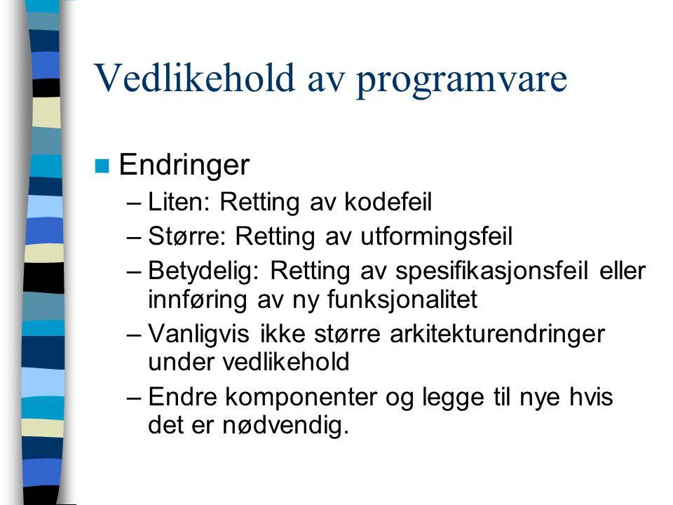 Distribusjon av brukergrensesnitt (for gamle systemer uten lagdeling)