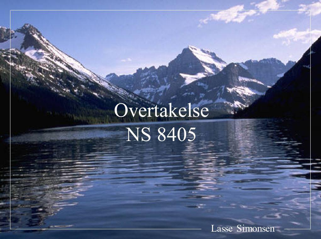 Lasse Simonsen Overtakelse NS 8405