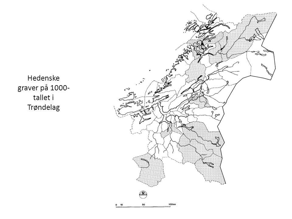Hedenske graver på 1000- tallet i Trøndelag