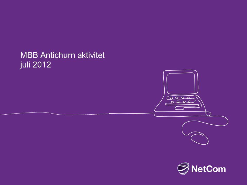 MBB Antichurn aktivitet juli 2012