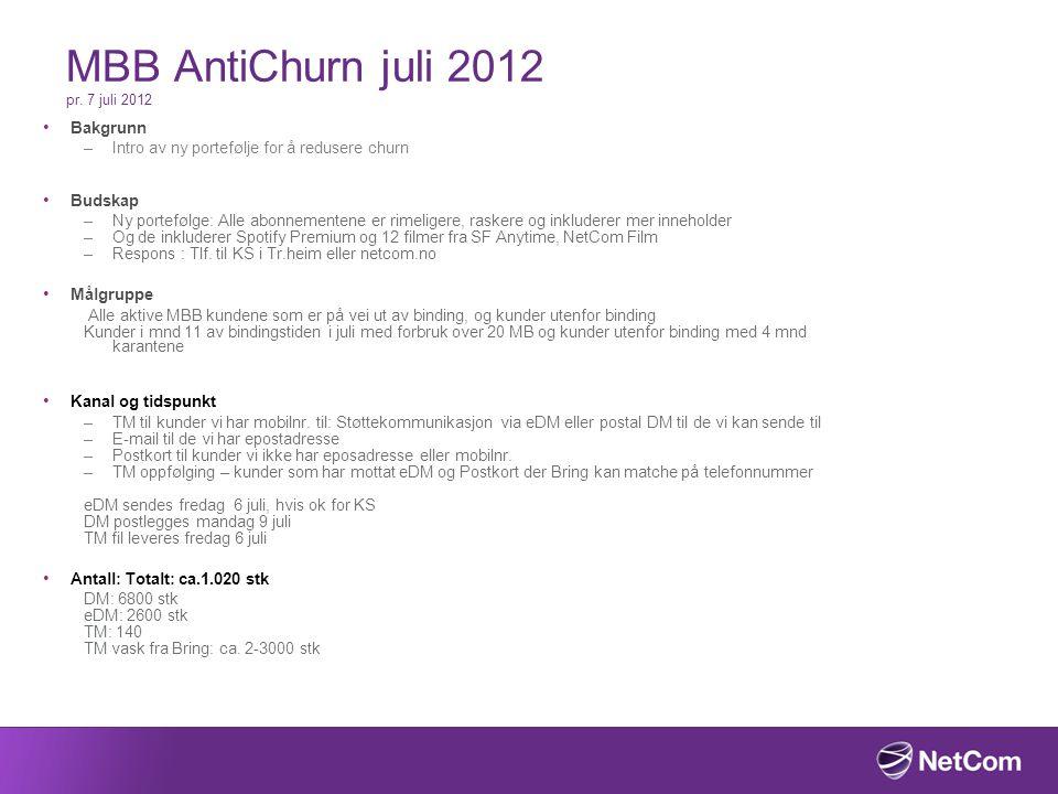 MBB AntiChurn juli 2012 pr.