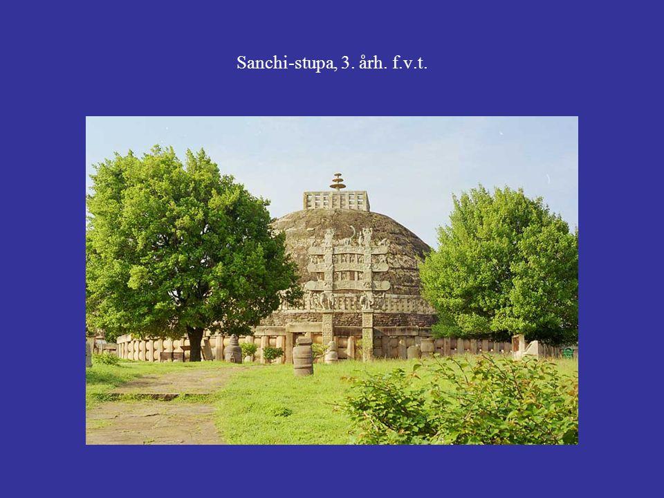 Sanchi-stupa, 3. årh. f.v.t.