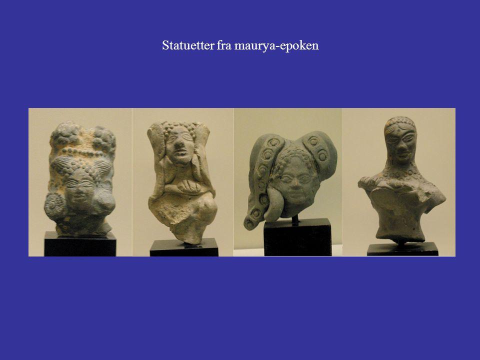 Statuetter fra maurya-epoken