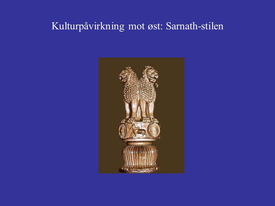 Kulturpåvirkning mot øst: Sarnath-stilen