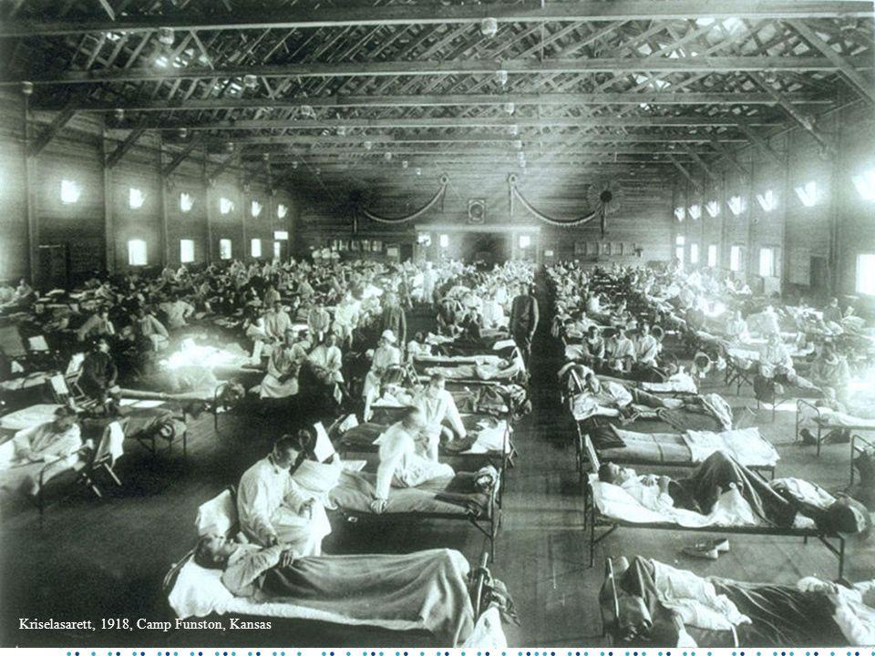 Kriselasarett, 1918, Camp Funston, Kansas