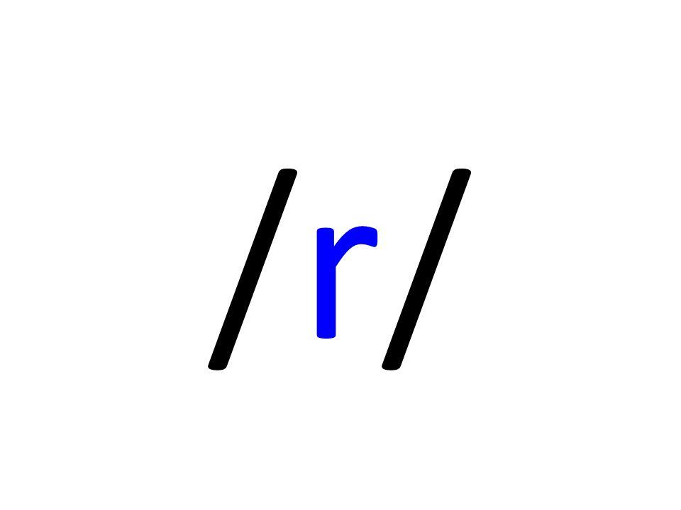 Fire typar /r/: VariantRepresentantBlir brukt i … Rulle-r http://www.youtube.com/watch?v=-ctFr2eO_L8 Det meste av Norden, Spania, Italia, Aust-Europa Engelsk r http://www.youtube.com/watch?v=grLmZGlzBW8 Engelsk (unnteke skotsk og nokre få andre dialektar, som har rulle-r) Retrofleks r http://www.youtube.com/watch?v=ibY50eH52k0 Indiske språk / amerikansk engelsk Skarre-r http://www.youtube.com/watch?v=-rPvvSaDigw Frankrike, Tyskland, Danmark, Skåne, Sørvest-Noreg