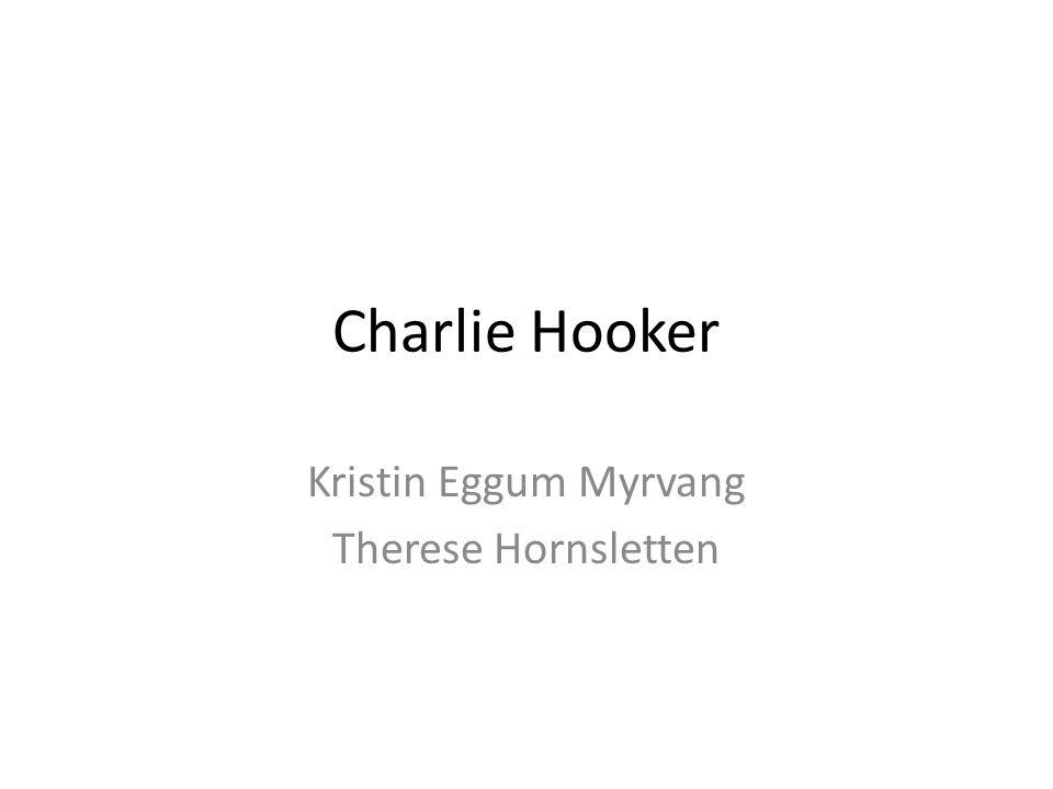 Charlie Hooker Født i London i 1953 Professor i skulptur ved universitetet i Brighton Grunnla The Spring Gruppen Har holdt på med kunst lenge, siden 70-tallet.