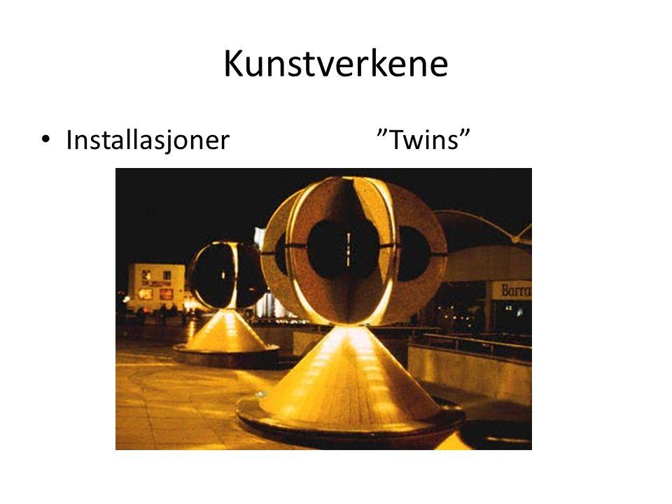 Kunstverkene Installasjoner Twins