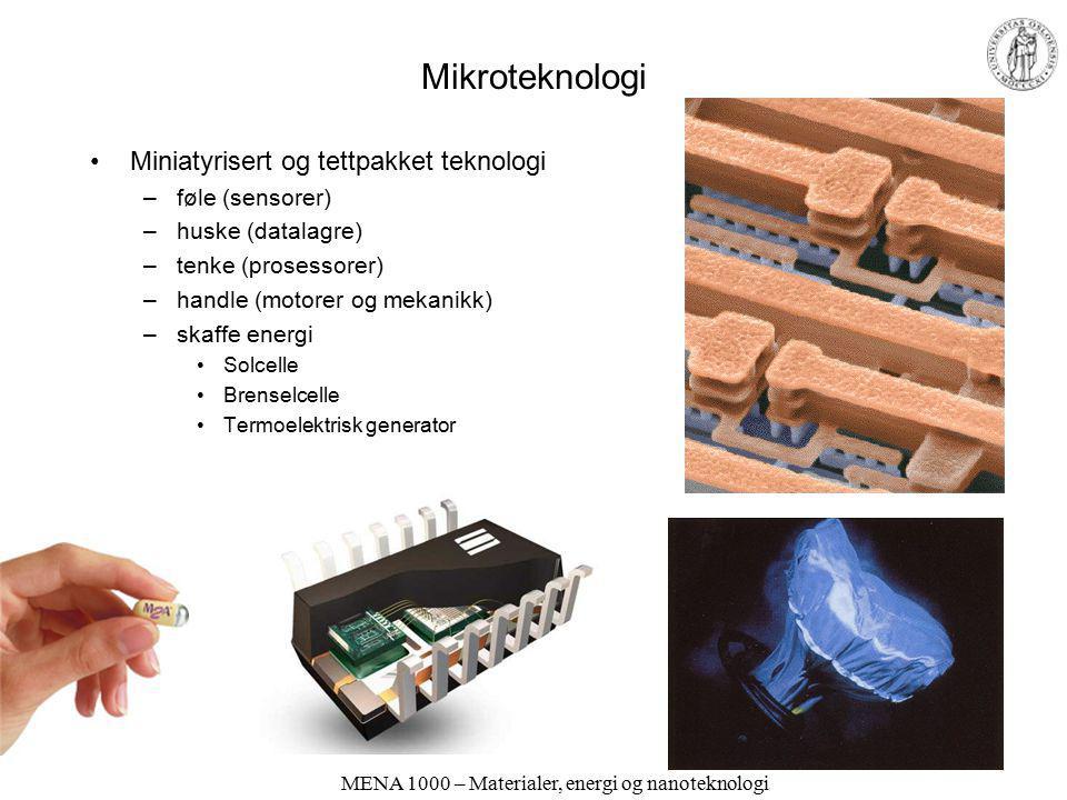 MENA 1000 – Materialer, energi og nanoteknologi Kompositt- og hybridmaterialer Komposittmaterialer består av flere faser (oftest av forskjellig klasse