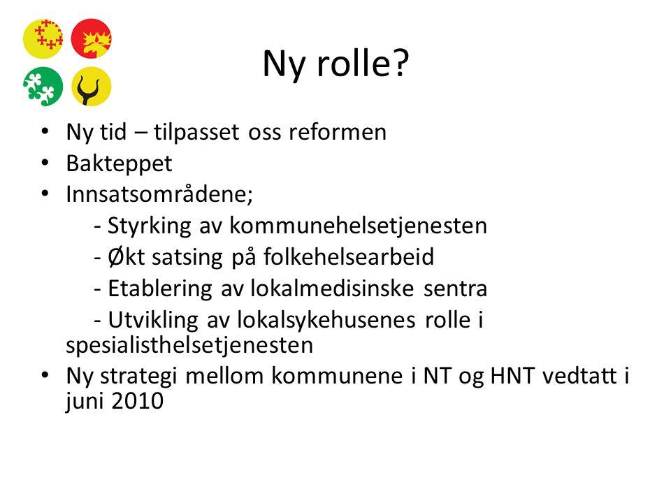 Ny rolle.