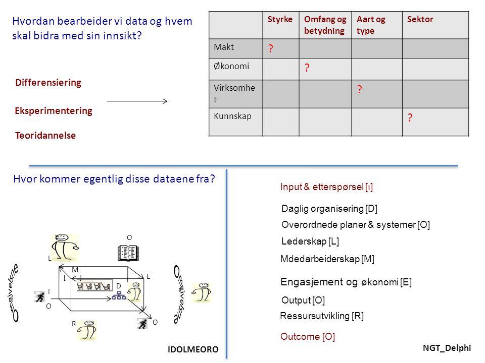 NGT_Delphi StyrkeOmfang og betydning Aart og type Sektor Makt .