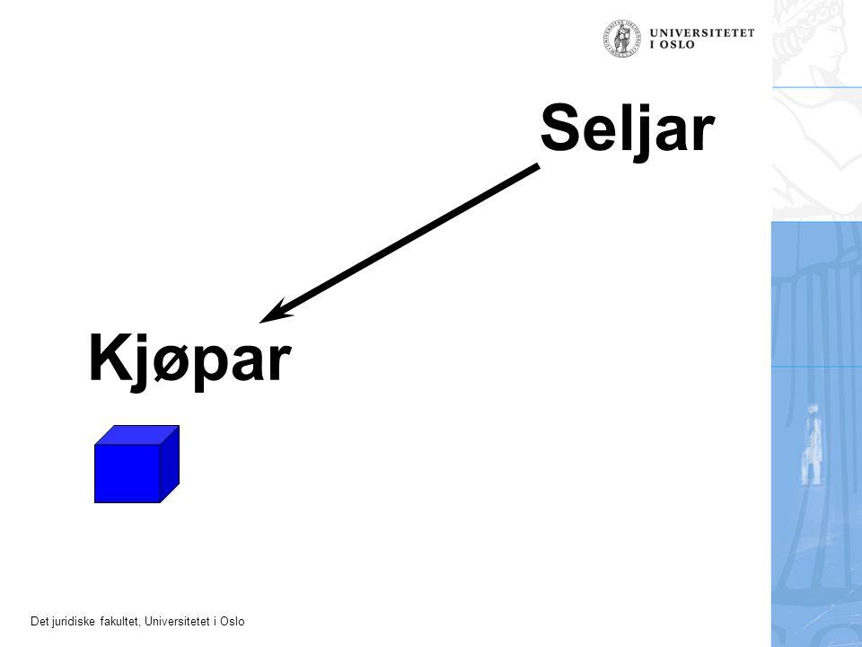 Det juridiske fakultet, Universitetet i Oslo Seljar Kjøpar