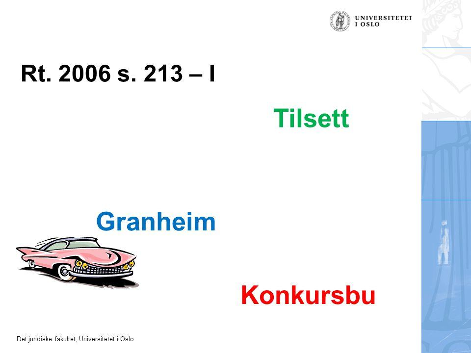 Det juridiske fakultet, Universitetet i Oslo A S B Eigar (kjøpar) Panthavar (seljar eller långjevar) Kreditor (utleggstakar konkursbu) Omsetnings- ervervar