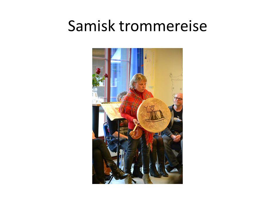 Samisk trommereise