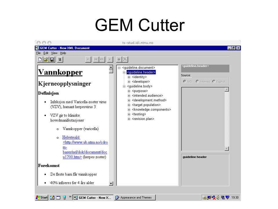 GEM Cutter