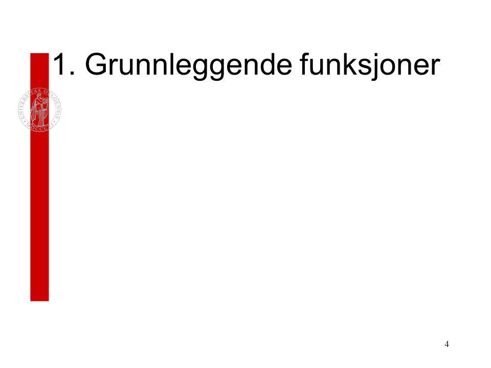 5 Tittellinje, med navnet på dokumentet Menylinje.