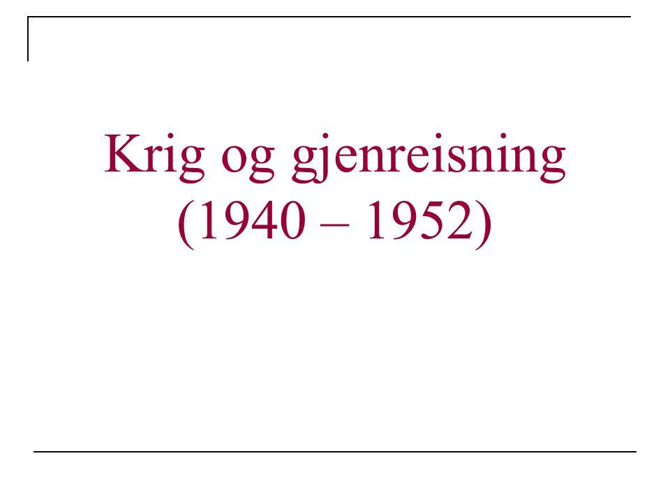 Stortingsvalget 1949 Arbeiderpartiet er usikker på sin posisjon Høyre tror på et politisk gjennombrudd, men lykkes ikke Arbeiderpartiet sikrer sin posisjon Hvorfor vant Arbeiderpartiet fram.