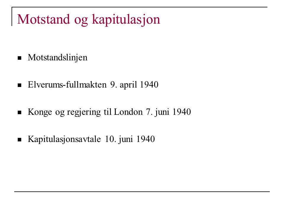 Oppsummering Gjenreisingsårene 1945-1952  Etter politisk opprydning 1945 etablerer Arbeiderpartiet seg som et politisk tyngdepunkt  Stor felles vilje til å gjenreise landet ...