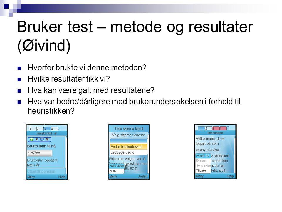 Andre perspektiver (Ole Halvor) Mobil mot stasjonær Sikkerhet og personvern Ta i bruk ny teknologi