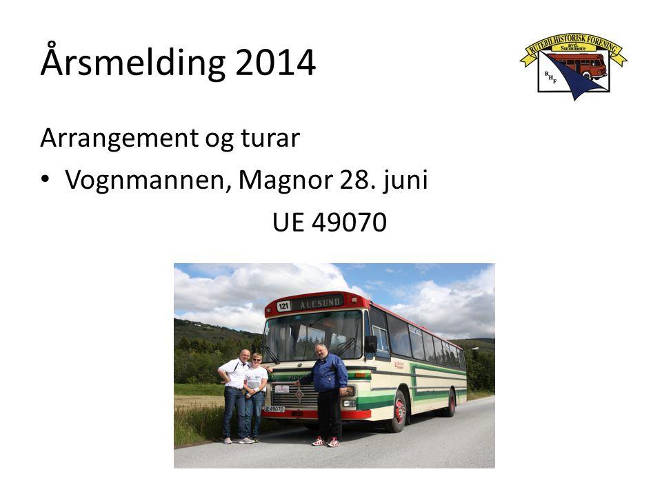 Årsmelding 2014 Arrangement og turar Førjulssøndag 7.