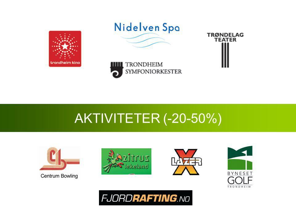 AKTIVITETER (-20-50%)