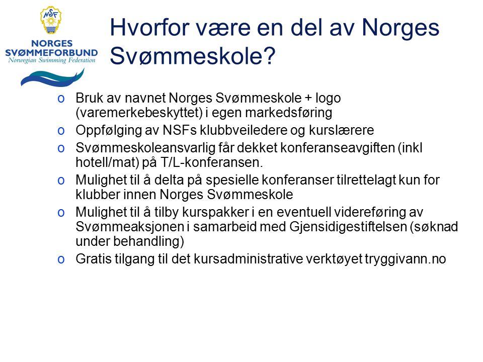 Hvorfor være en del av Norges Svømmeskole.