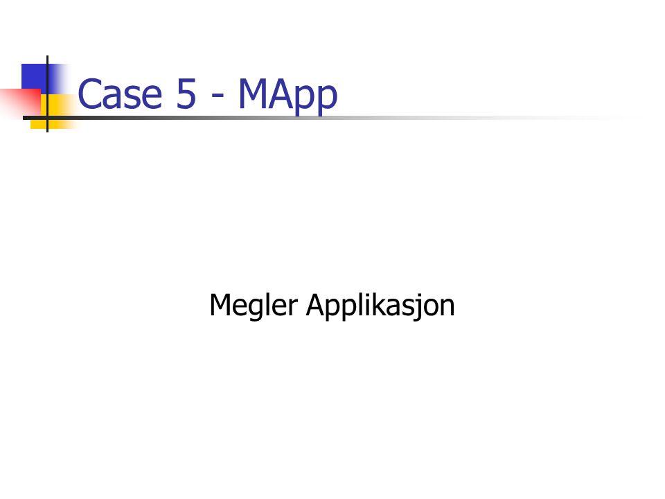 Case 5 - MApp Megler Applikasjon