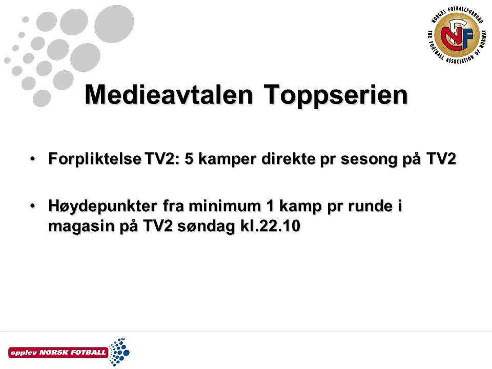 Toppserien 2006 DatoKampSeereMarkedsandelKanal 02.sepKolbotn - Røa86.00027 %TV2 07.oktRøa - Trondheims Ørn85.00032 %TV2 14.oktTeam Strømmen - Sandviken72.00027 %TV2 21.oktKolbotn - Fløya56.00022 %TV2 28.oktTrondheims Ørn - Kolbotn75.00031 %TV2