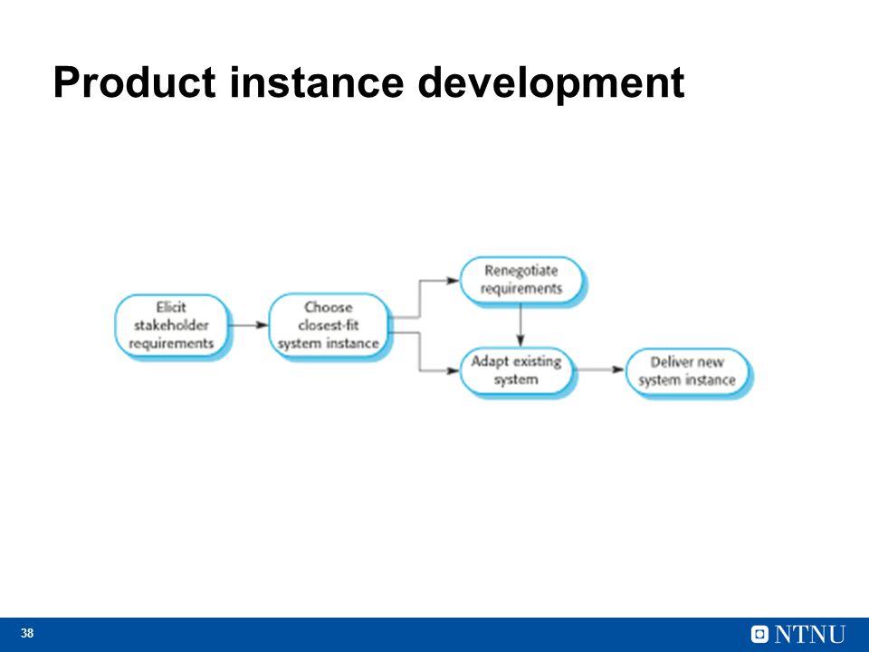 38 Product instance development