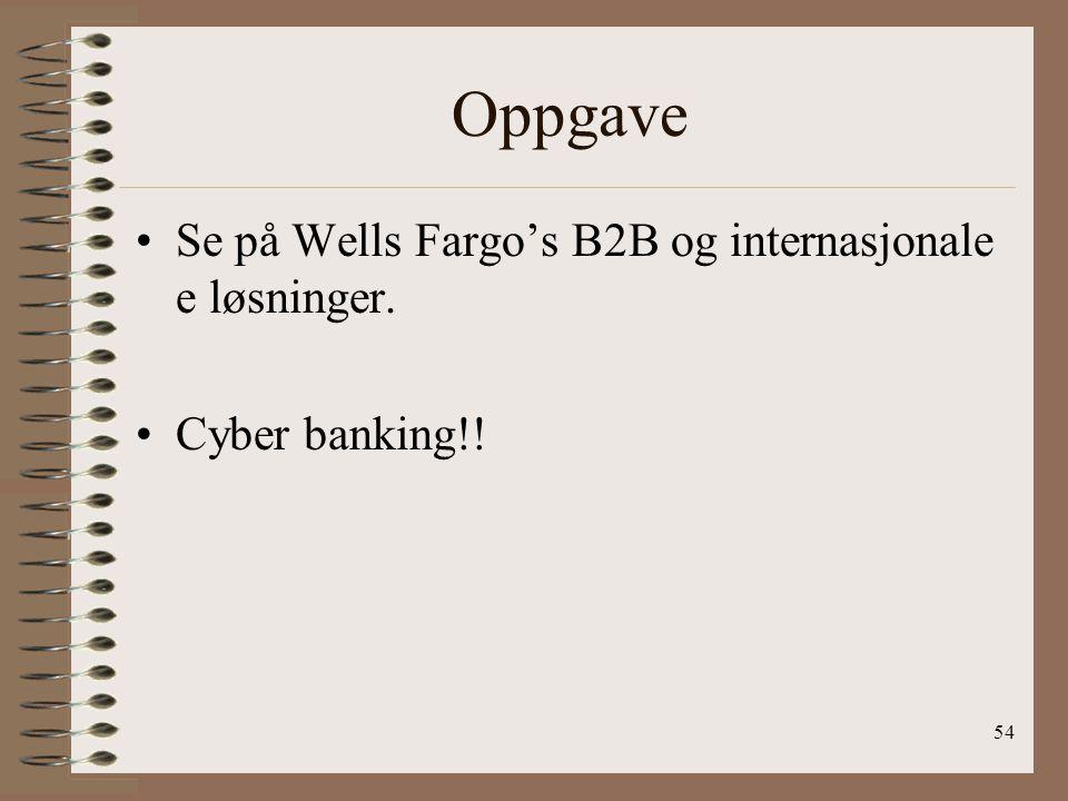53 Wells Fargo bank Lo205 prosjekt av Heidi Kjersem Eldar Lillevik Erna Senkina Ståle Isaksen