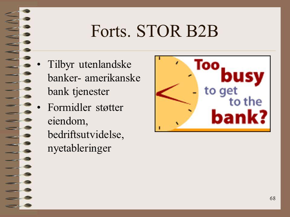 67 STOR B2B Wells Fargo blir med som konsulenter, og kreditorer Kommunikasjon med internasjonale konsern gjennom eksempelvis å få tilgang til deres in