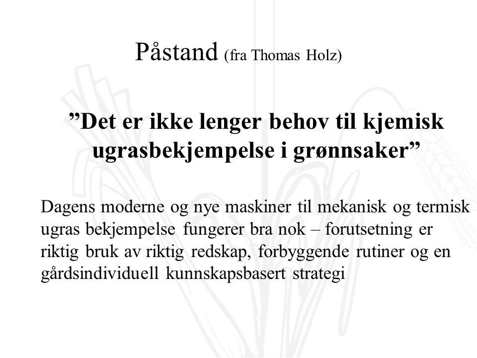 Forløpig konklusjon (fra Dr.Henryk Luka FiBL Schweiz) Kornblomster......