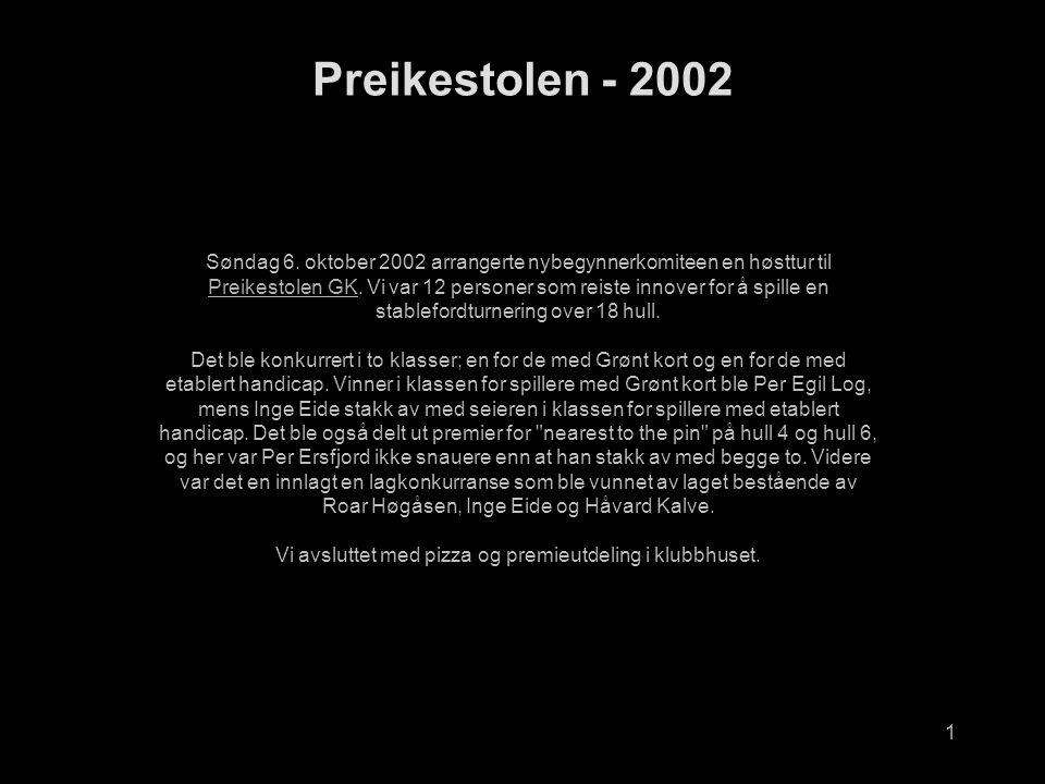1 Preikestolen - 2002 Søndag 6.