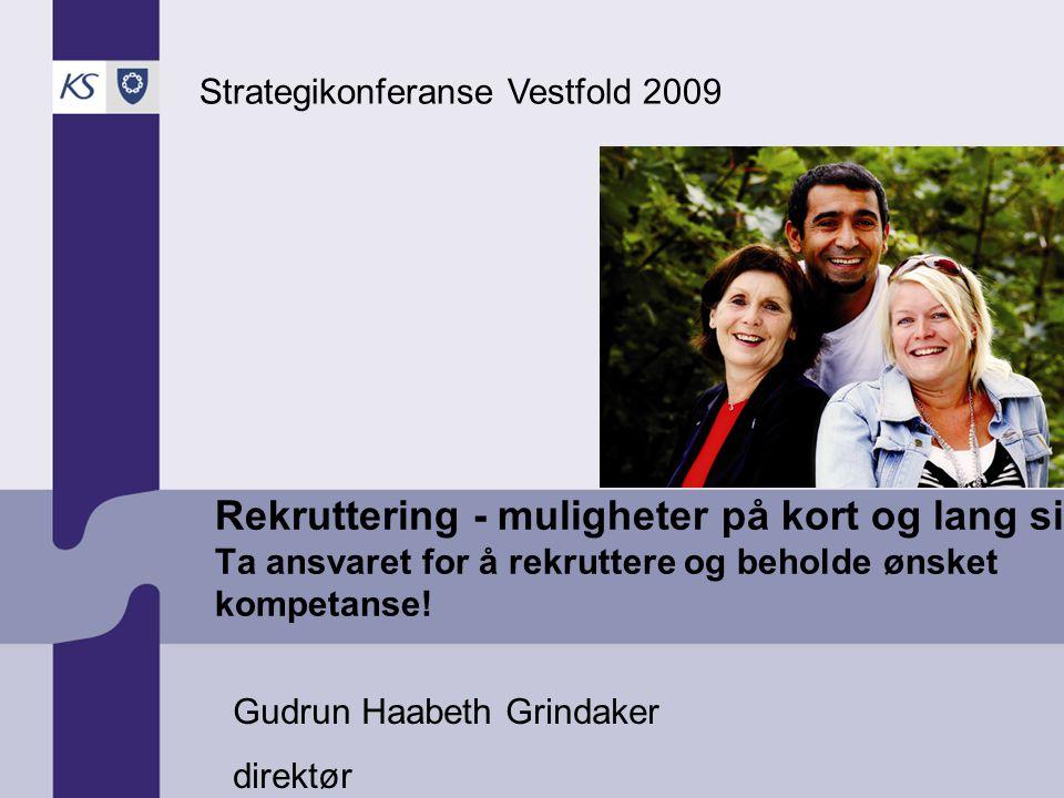2009 Ung og nyutdannet arbeidskraft Mål rekruttere og beholde unge og nyutdannede.