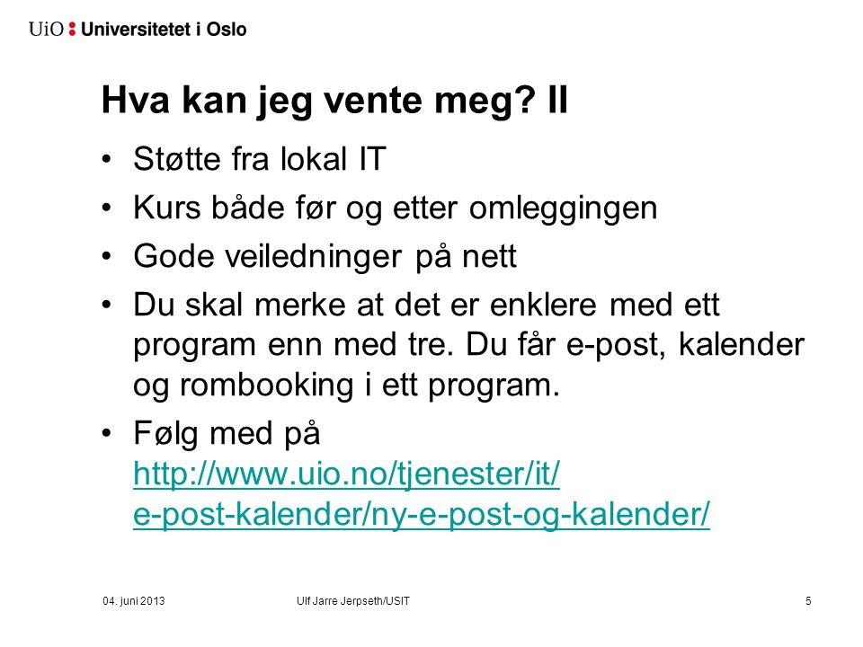 Kalle inn til møte 16 04. juni 2013Ulf Jarre Jerpseth/USIT