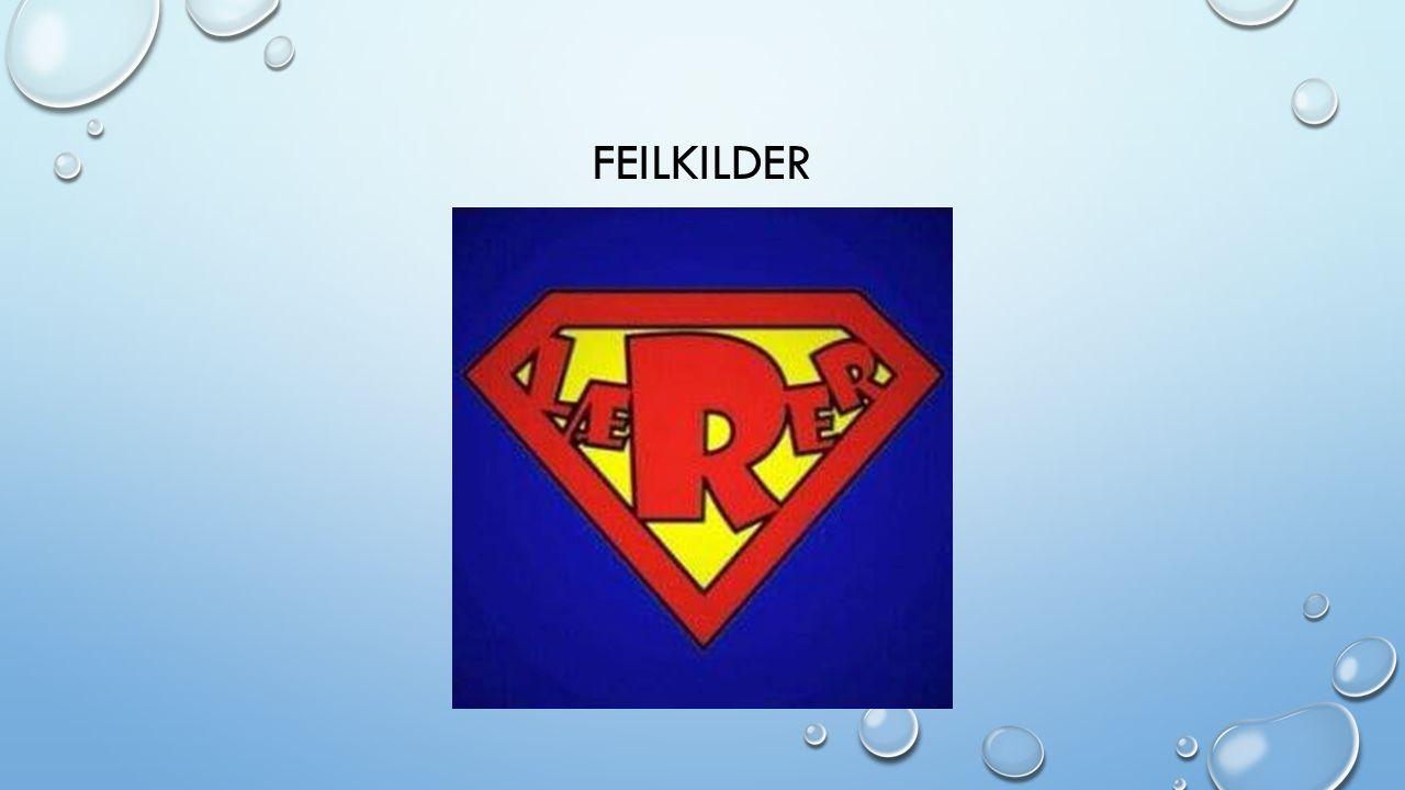 FEILKILDER