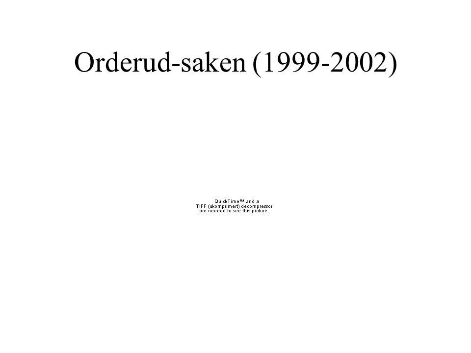 Orderud-saken (1999-2002)