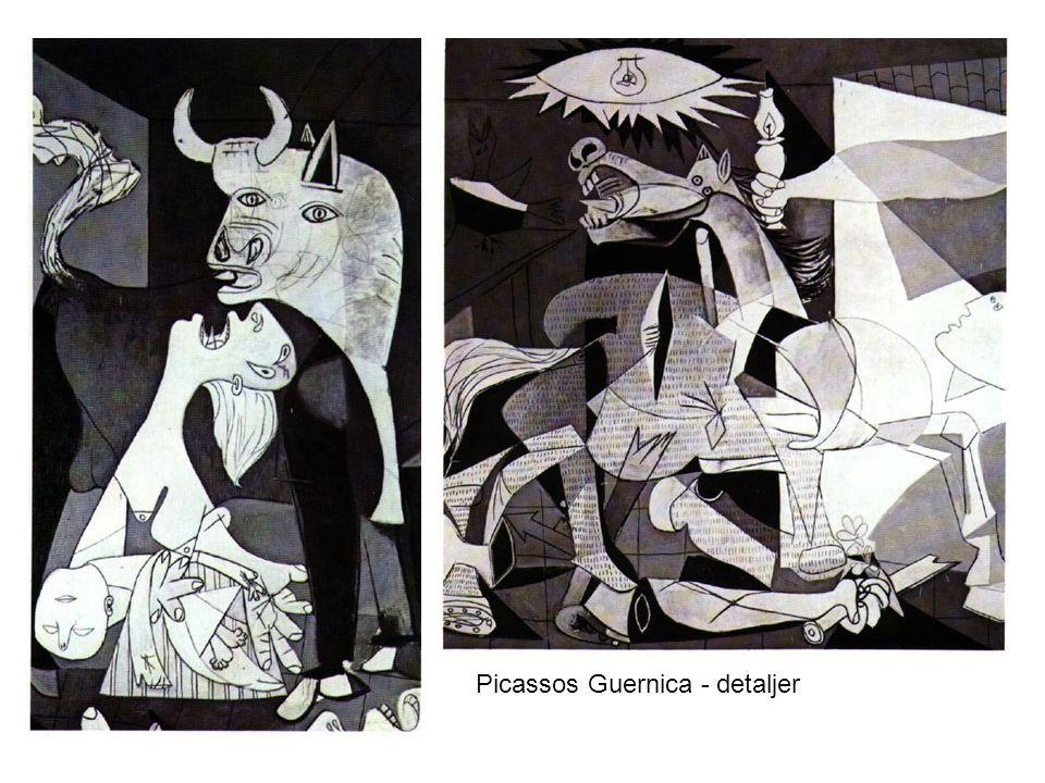 Picassos Guernica - detaljer