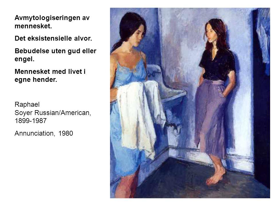 Identitetsspørsmålet. Menneskets møte med eget speilbilde Jean Raoux 1677-1734 A Lady at her Mirror